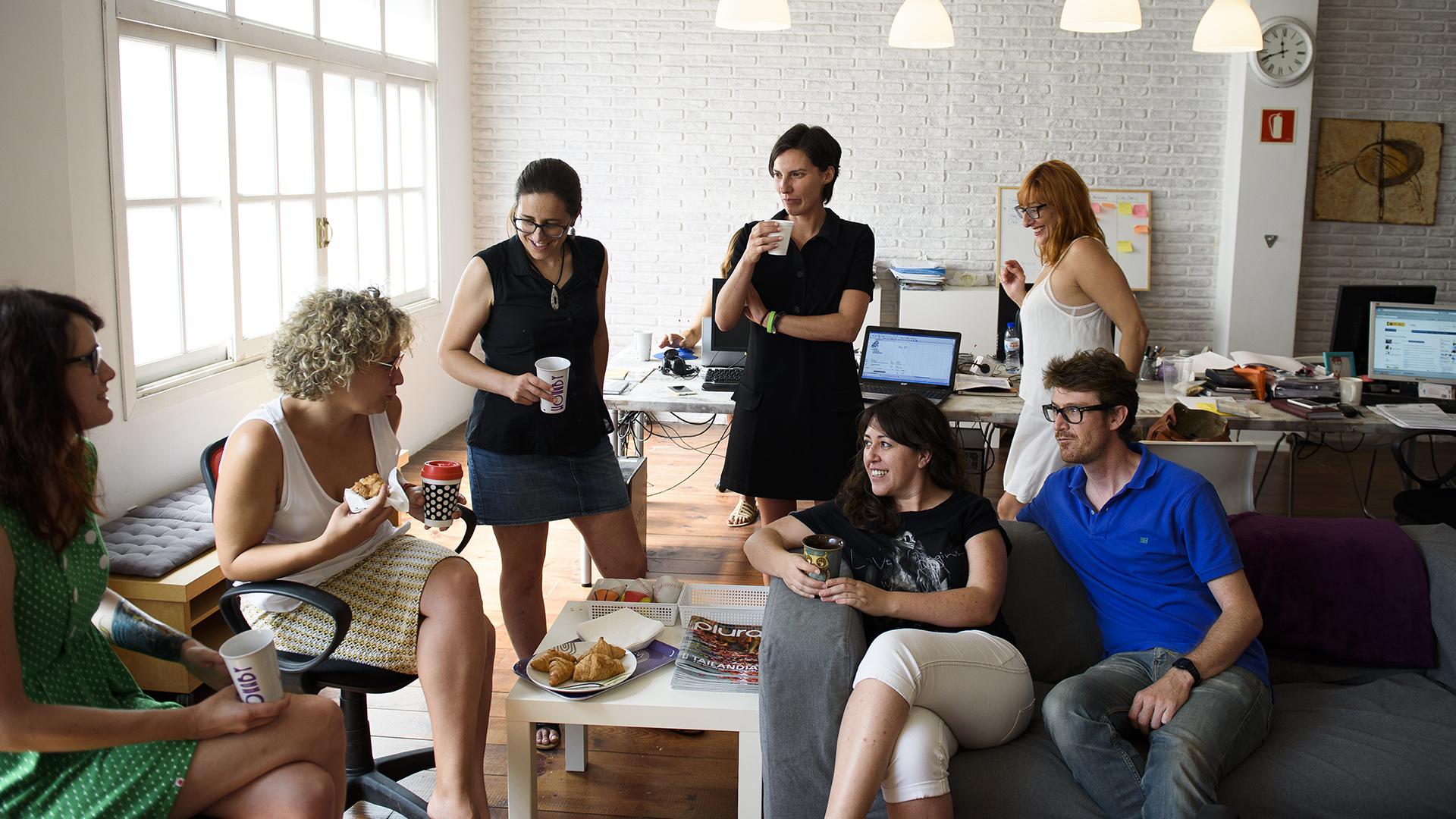 Tu trabajo más que un negocio, wohaby más que una oficina